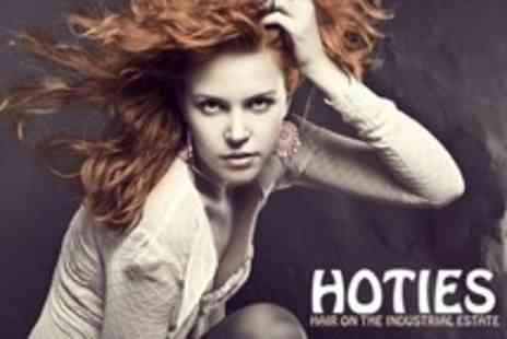 HOTIES - Cut and Finish With Conditioning Treatment and Indian Head Massage - Save 62%