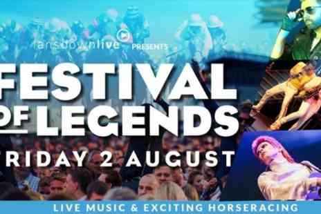 Festival of Legends - One or two grandstand enclosure tickets on 2nd August  - Save 42%