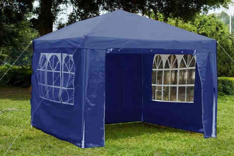 Eurotrade - 3 x 3m gazebo choose from five colours - Save 68%