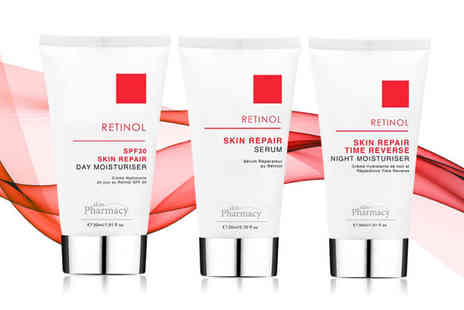 skin Chemists - 30ml Retinol Skin Repair day moisturiser or 20ml serum - Save 0%