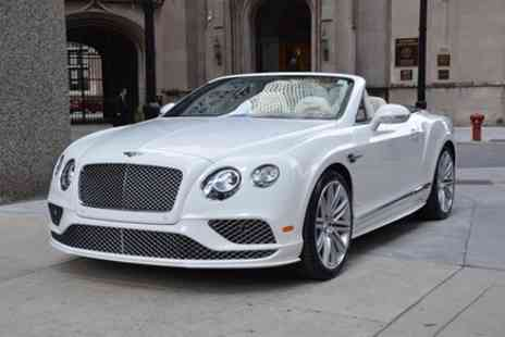 Gilles Anderson - Three Day Bentley GTC and Nightclub Package - Save 0%