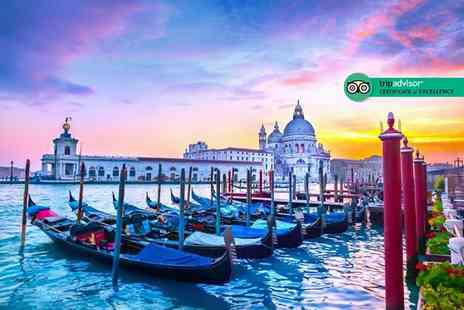 Super Escapes Travel - Two nights luxury Venice stay with breakfast and return flights - Save 31%
