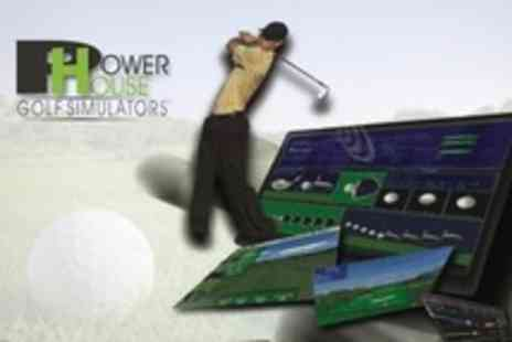 Powerhouse Golf - Golf Simulator Two Hour Session For Up to Four - Save 61%