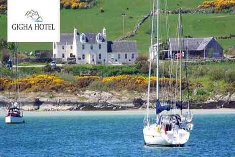 Gigha Hotel - Overnight Isle of Gigha stay for two people with breakfast - Save 47%