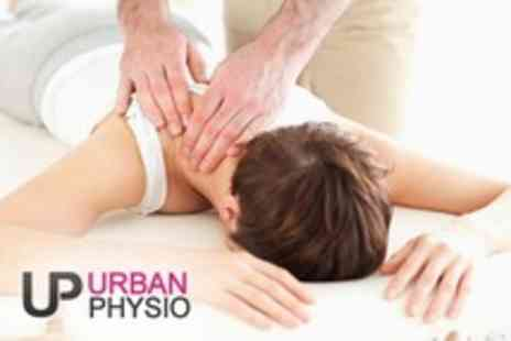 Urban Physio - Physiotherapy Consultation With Treatment and Sports Massage - Save 76%
