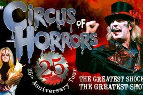 The Circus of Horrors - One ticket From 19 October 2019, 22 and 24 January 2020 - Save 33%