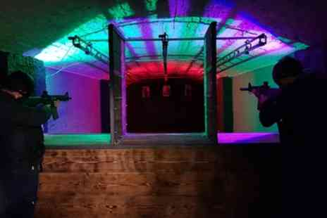 Ultimate Airsoft Range - Airsoft Shooting Taster or Rifle and Pistol Experience for Up to Six - Save 29%