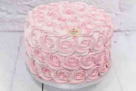 Cakes Today - 8 Inch Vegan Cake or Cupcake Box of Choice - Save 50%