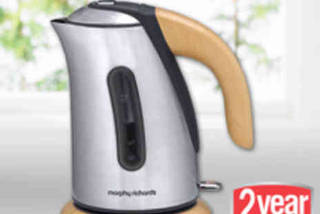 morphy richards - Beech Jug Kettle - Save 73%