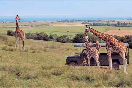 Hog Deer Creek - Four Star Memorable and Unique Stay in Safari Park for two - Save 26%