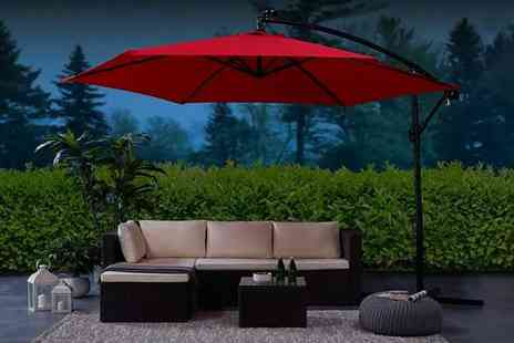 UK Furniture Store - Garden parasol choose from four sizes - Save 0%