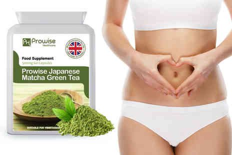 Prowise Healthcare - 60 x 500mg Japanese matcha green tea capsules - Save 77%