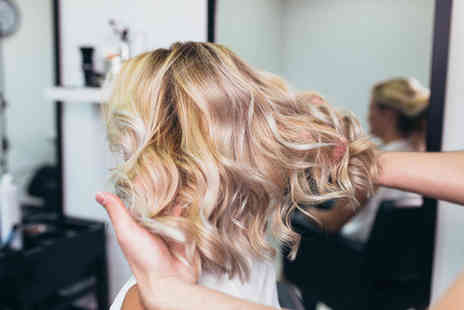 Love Your Hair - Half head balayage package including a hair wash with a conditioning hair mask treatment, a haircut and finish - Save 49%