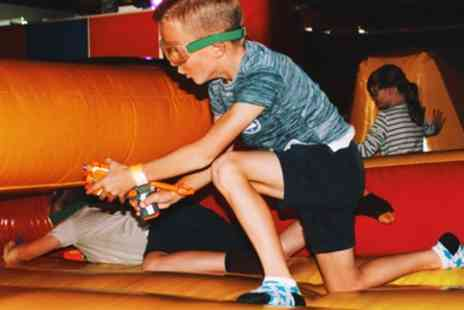 Nerf Gaming at Alternative Adventure Centre - One Hour Nerf War Session for Up to Eight - Save 25%