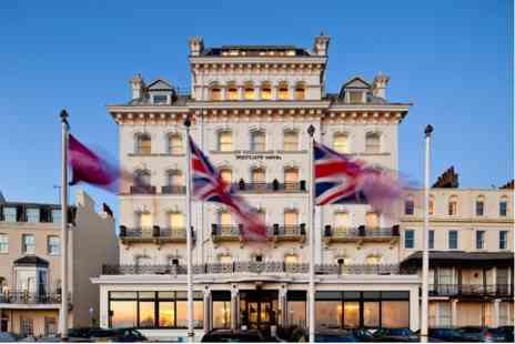 Mercure Brighton Seafront Hotel - One Night Break with Dinner for Two - Save 0%