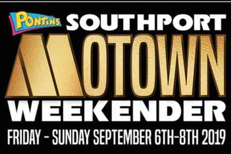 Gold Soul Events - One ticket to Southport Motown Weekender from 6 To 8 September - Save 60%