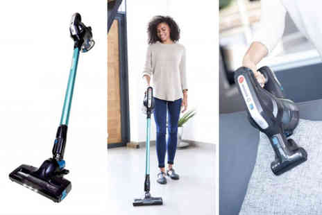 Direct Vacuums - Two in one upright HF18CPT cordless vacuum - Save 61%
