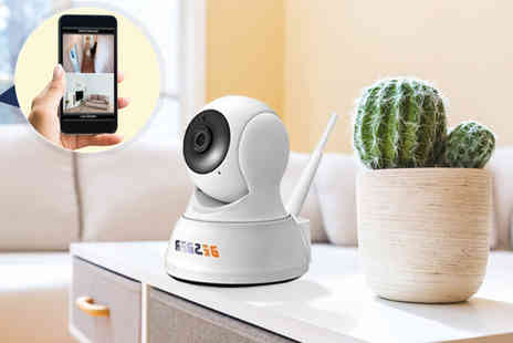 Domo Secret - Smart wi-fi security camera with night vision - Save 79%