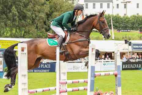 Land Rover Blair Castle International Horse Trials - Two tickets to Land Rover Blair Castle International Horse Trials on Thursday 22nd or Friday 23rd August - Save 42%