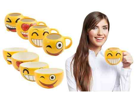 Avant Garde Brands - Two Mystery Emoji mugs or bowls - Save 0%