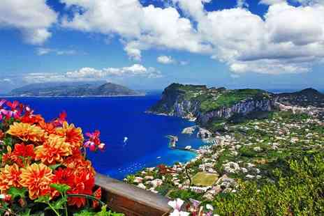 Ischia, Capri & Naples Roulette Tour - Four Star Volcanic Landscapes, Charming Bay Views & Ancient City Stay - Save 0%