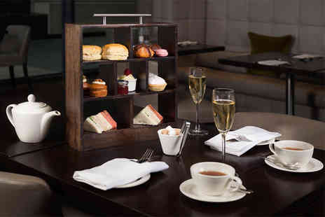 DoubleTree by Hilton Hotel - Afternoon tea for two people with a glass of Prosecco each  - Save 60%