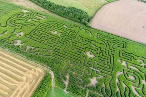 Maize Maze - Maze Entry for One, Two or Family of Four - Save 42%