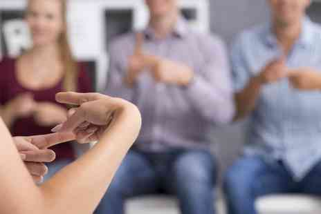 Educator London - Online British Sign Language level one course with One Education - Save 98%