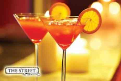 The Street - 2 Cocktails and a luxury sharing platter - Save 57%