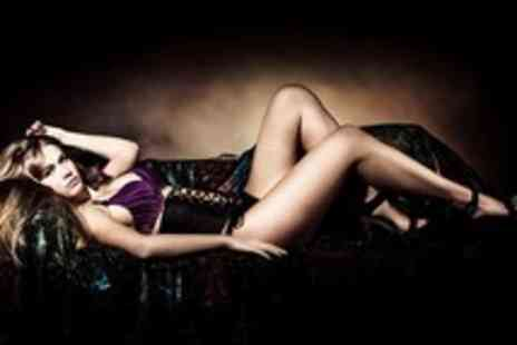 Boudoir Superstar - Boudoir photoshoot including bubbly, hair, make up and a 10x8 print - Save 92%