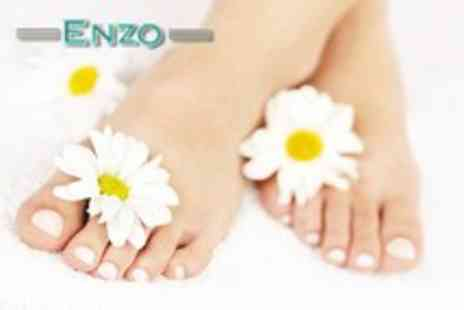 Enzo Beauty - Luxury pedicure and foot callus treatment - Save 68%