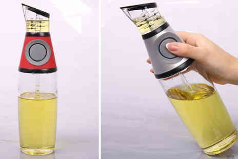 J Star Direct - Oil And Vinegar Dispenser 500ml - Save 64%