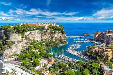 Hotel Columbus Monte Carlo - Three Star Glamorous Escape to the French Riviera for two - Save 47%