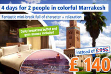 Dellarosa Hotel suites & spa - 4 Day cultural exploration in Marrakesh - Save 61%