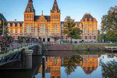 Eden Hotel Amsterdam - Four Star Stylish Hotel Overlooking the Iconic Amstel Canal for two - Save 61%