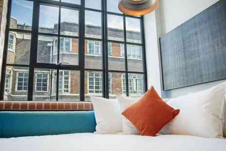 New Road Hotel - Four Star Industrial Chic Boutique near Brick Lane for two - Save 80%