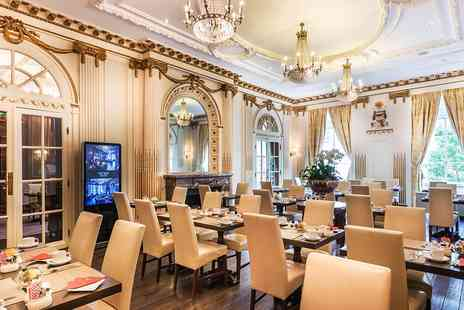 Grand Royale London Hyde Park - Afternoon tea and bubbly for Two - Save 51%