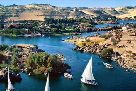 2TemptU Travel - Five star 14 nights Nile cruise and Luxor break - Save 0%