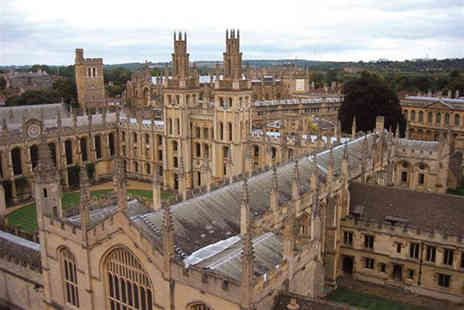 Golden Tours - Full day tour of Oxford, Stratford upon Avon, The Cotswolds and Warwick Castle for one - Save 53%