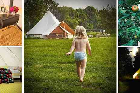Ambers Bell Tents - Ambers Bell Tent Glamping Luxury Family Breaks that will get you Back to Nature - Save 41%