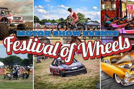 Motorshow Events - Festival of Wheels Circus, Stunts, Rides, Activities and More Non Stop Family Fun - Save 25%