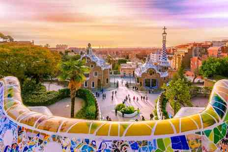 Super Escapes Travel - Two nights luxury Barcelona holiday with return flights - Save 28%