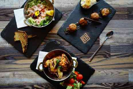 Sizzle & Smoke - Two course Thai dining for two people bring your own bottle - Save 46%