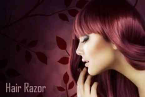Hair Razor - Restyle and Conditioning Treatment - Save 61%
