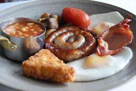 King's Restaurant - Full English Breakfast for Two or Four - Save 50%