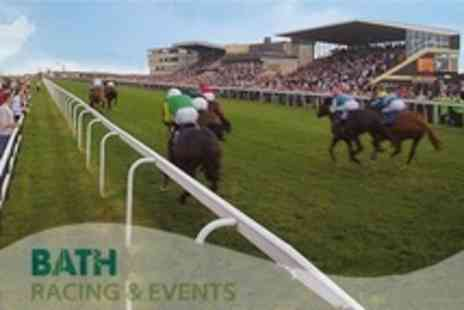 Bath Racecourse - Raceday Ticket With Access to Premier Enclosure and Facilities - Save 56%