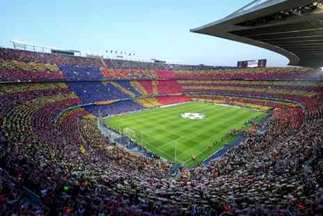 FC Barcelona - Unparalleled Spanish Football Experience for two - Save 16%