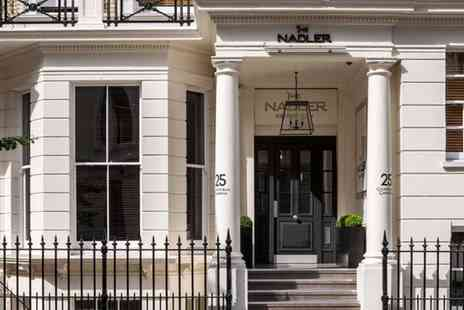 The Nadler Kensington - Four Star Townhouse Stay in the Royal Borough for two - Save 74%