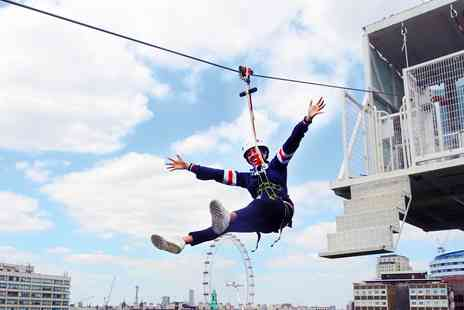 Zip Now London - Exhilarating zip wire experience in London - Save 0%