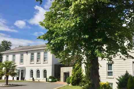 Manor of Groves Hotel - Overnight Hertfordshire stay for two including breakfast, a drink each and leisure access - Save 0%